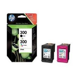 HP Multipack Originale Nero 300 Colore 300