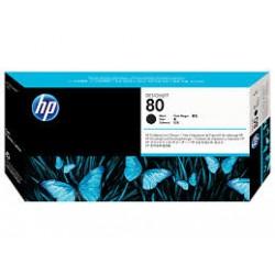 HP 80 testina nero