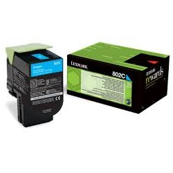 Lexmark toner ciano 802C