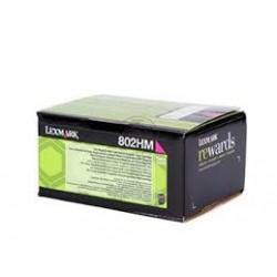 Lexmark toner magenta 802HM 3.000 pagine