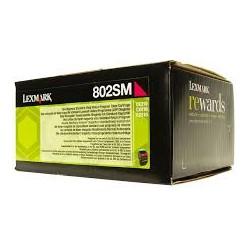 Lexmark toner magenta 802SM 2.000 pagine