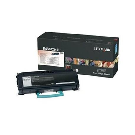 Lexmark toner nero E460X31E alta resa