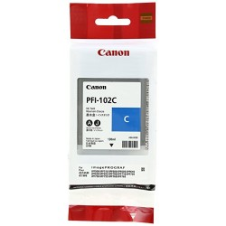 Canon PFI-102c ciano