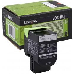 Lexmark 702HK nero