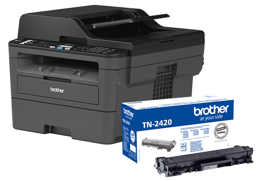 Brother MFC-L2710DN + toner